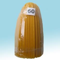 Свечи парафиновые Конусные 20 (100шт)  31см, диаметр  100 мм 2кг