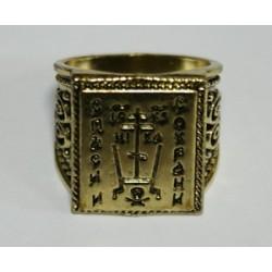 Кольцо Печатка 7