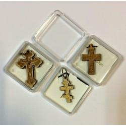 Крест дерев. в коробочке С