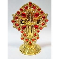 Крест без упаковки с камнями