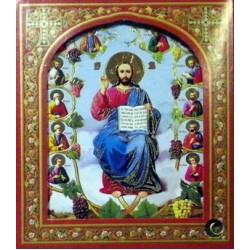 Аз есмь Лоза Ист (12 апостолов) 10х12 ДВП С КАПСУЛОЙ