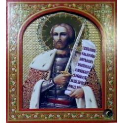 Александр Невский 10х12 ДВП С КАПСУЛОЙ