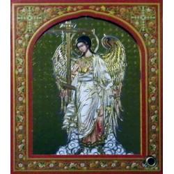 Ангел Хранитель ( ростовой ) 10х12 ДВП С КАПСУЛОЙ