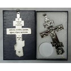 Кресты металлические SV13 12 х 6,5 см (сер. цв.)Сувенирные КИТАЙ