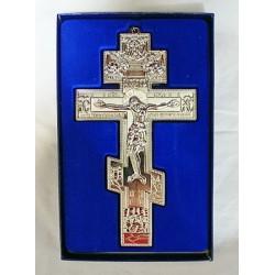 Кресты металлические SV 15 A 15,5х8,5см (СЕР. цв.)Сувенирные КИТАЙ