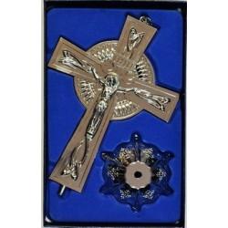 Кресты металлические КР 17  (СЕР. цв.)