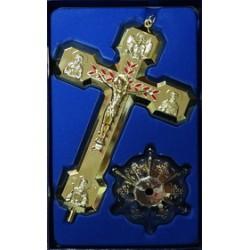Кресты металлические КР 19  (Зол. цв.)