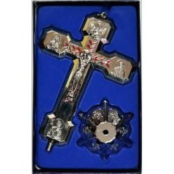 Кресты металлические КР 19  (СЕР. цв.)