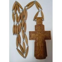 Наперсный  наградной крест  с цепочкой 2 дерево груша