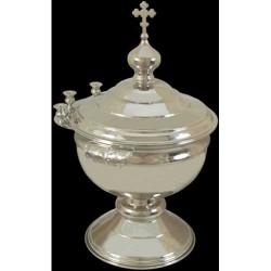 Водосвятная Чаша бол. никелир  код Софрино 3240003