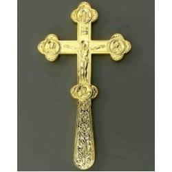 Крест водосвятный 1-1 золочение, код Софрино 3380060