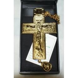 Крест наперст. мал с цепью зол.код Софрино 3380133