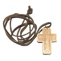 Крест Кожанный  упаковка 100 шт