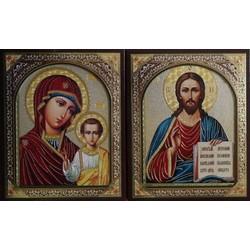 Иисус 10х12 МДФ в коробочке