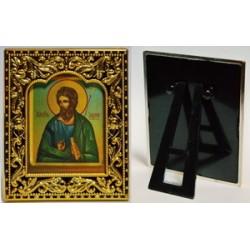 Андрей квадратная Икона в рамке РИЗА 6*7,5