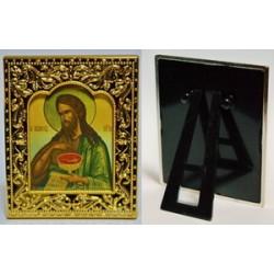 Иоанн Креститель квадратная Икона в рамке РИЗА  6*7,5