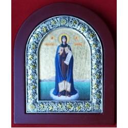 Афонская  Пресвятая Богородица, арка средняя