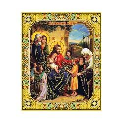 Благословение детей лам,10х12