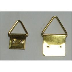 Вешалка треугльная 2 отв. 037  (12х22) см.