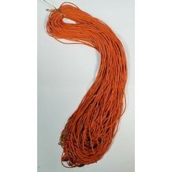 Нить на закрутке К 70 см оранжевая в уп 100шт