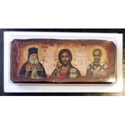 Лука+Спаситель+Николай под старину