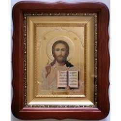 Киот дер. багет 15х18 Н Софрино Спаситель 2114