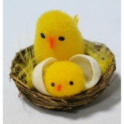 Цыплята в гнезде 10ВУ-265 (12 шт. в коробке)  ЦЕНА ЗА ШТ