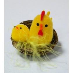 Цыплята в гнезде 10ВУ-269 (12 шт. в коробке)  ЦЕНА ЗА ШТ