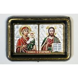 Смоленская Б.М.+ Спаситель Двойник пластм.  упаковка 25 шт