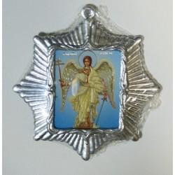 Ангел Хранитель  Звезда Икона Малая  сер. б/о (80х85)