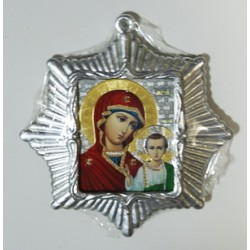 Казанская Б.М. Звезда Икона Малая  сер. б/о (80х85)