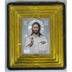 Спаситель Икона Малая  зол окл.(70х80) 02853