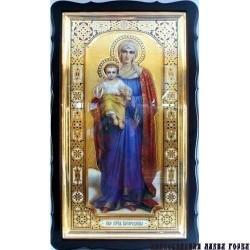 Киот Храмовый 116х67 БН  Пр.Богородица ростовая