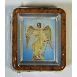 Ангел Хранитель Киот пл.коричн. без  окл.