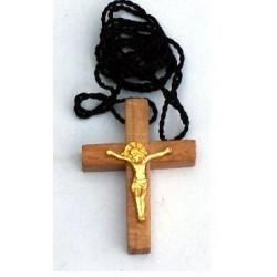 Крест дер. нательный с метал. расп. упаковка  крн,100 шт