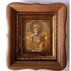 Николай Киот дер. фигурный 10х12