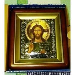 Киот Софрино 11х13 мал с ризой Спаситель, код Софрино 2060064