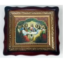 Киот Гальванопластика Николай (410х370) (фигурн.)