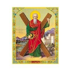 Андрей Первозванный  лам,10х12