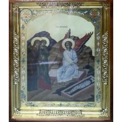 Мироносицы и Ангел возле Гроба Господнего 61х76 см