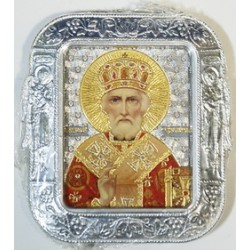 Николай Чудотворец  777  (Икона сер.(55х65) без оклад 20 шт.