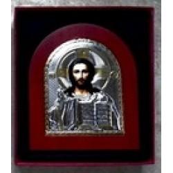 Арочная икона с ризой 20*25 см (1113-143)Казанская