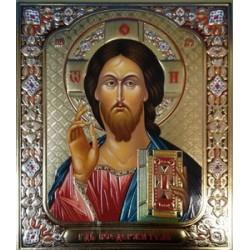 Иисус Христос ВИЗАНТИЯ 15*18 конгрев двойное тиснение