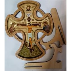 Крест круг на подставке