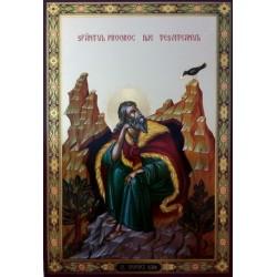 Илья Пророк Лик БРОНЗА 20*30