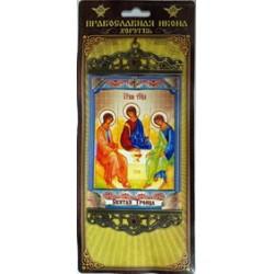 Троица Дуб.Православная Икона Хоругвь б
