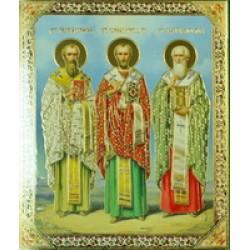 Три святителя (Василий Григор и Иоанн) 15х18 С