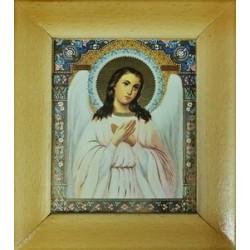 Ангел Хранитель Деревянная рамка 10 х12