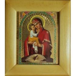 Почаевская Деревянная рамка 10 х12