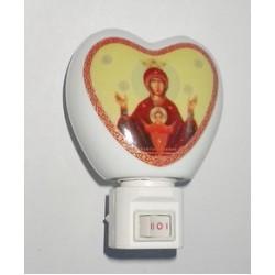 Светильник (с иконой Неупиваемая чаша )